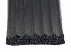 Uszczelka samoprzylepna czarna 20x4 (SD-52) 1m