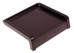 Parapet zewnętrzny stalowy blacha brąz 8019 250mm 1mb