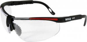 Okulary ochronne bezbarwne typ 91708 YATO 7367