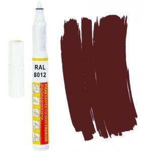 Kanten FIX RAL 8012 czerwono brązowy Pisak retusz