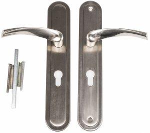 Klamka XLD C drzwi wejściowych zewnętrzn 72mm lewa