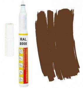 Kanten FIX RAL 8008 brązowy oliwkowy Pisak retusz