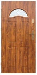 Drzwi wejściowe zewnętrzne Wikęd Premium wzór 4
