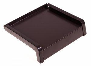 Parapet zewnętrzny stalowy blacha brąz 8019 300mm 1mb