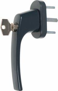 Mistral klucz antracyt 38mm klamka okienna okien