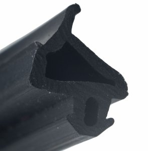 Uszczelka do okien PCV PLASTMO Czarna s1386
