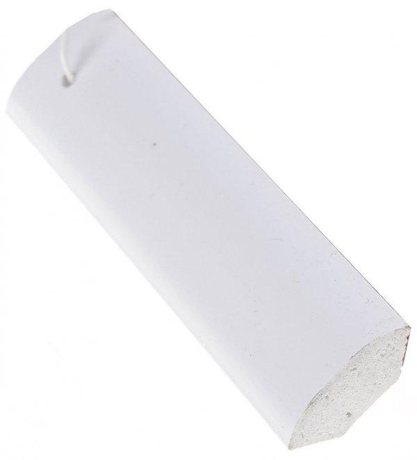 Ćwierćwałek listwa do okien 18x18mm biały 2,5m.