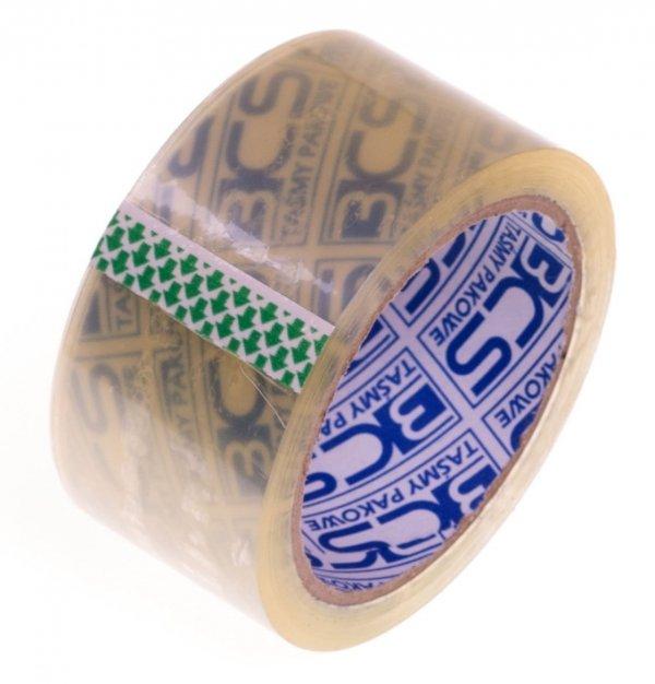 Taśma pakowa 48x66 przeźroczysta transparent akryl