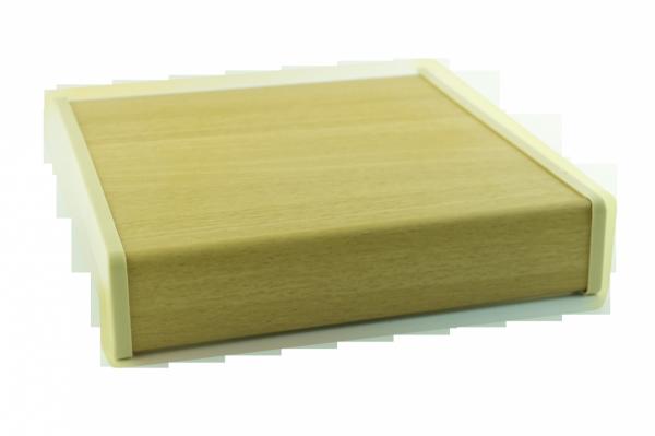 Parapet wewnętrzny plastikowy PCV olcha 400mm 1mb