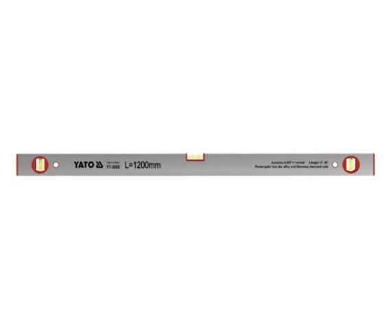 Poziomnica aluminiowa 3 libelki 1200mm YATO 3005