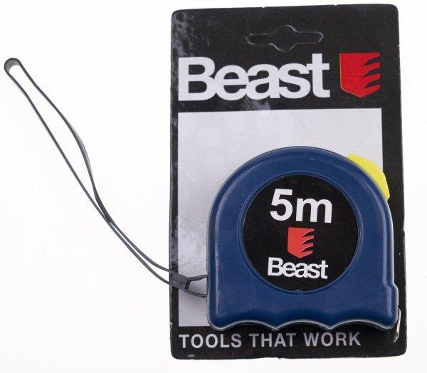Miara zwijana taśma miernicza miarka Beast 5mx16mm