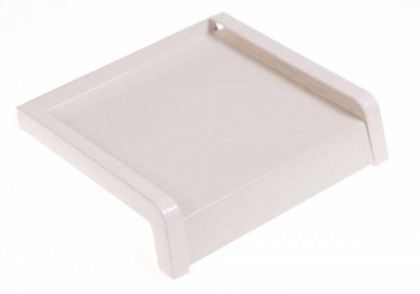 Parapet zewnętrzny stalowy blaszany biały 250mm 1mb