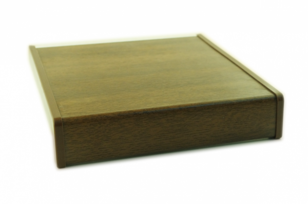 Parapet wewnętrzny plastikowy PCV orzech 200mm 1mb