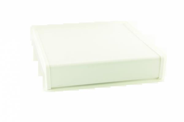 Parapet wewnętrzny plastikowy PCV biały 400mm 1mb