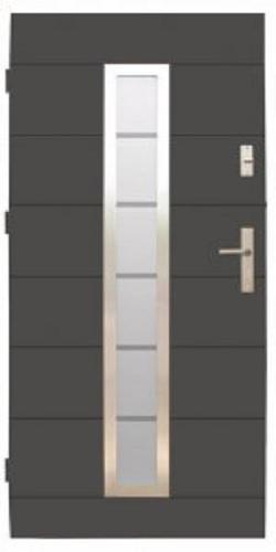 Drzwi wejściowe zewnętrzne Wikęd Premium wzór 12c