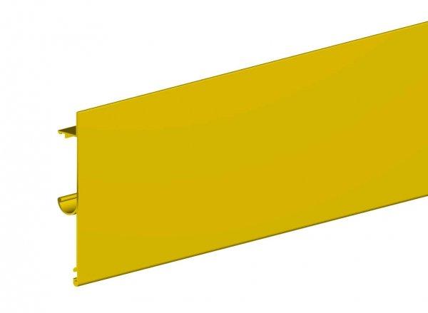 Maskownica do prowadnicy H2 drzwi 1800mm złota płaska herkules