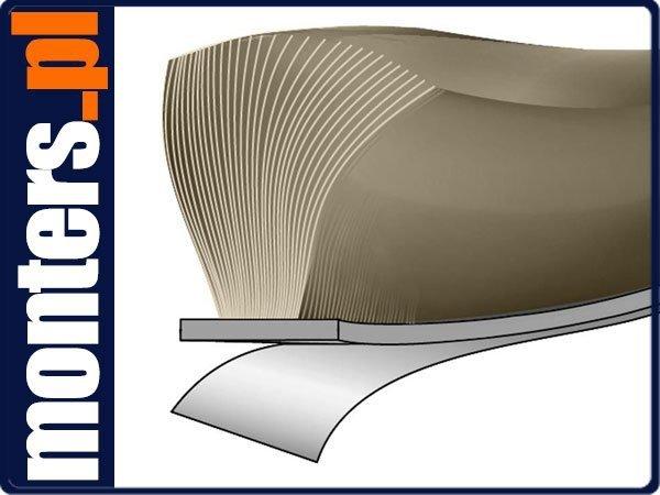 Bürstendichtung selbstklebend 6,9x22 Grau Türbürste Türdichtung Fensterdichtung