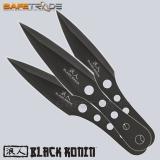 [UC-19] United Cutlery™ Noże do rzucania Black Ronin Triple Bolt Throwers