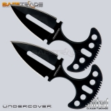 [UC-18] United Cutlery™ Noże Undercover Twin Push Daggers Black