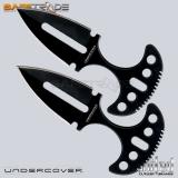 [UC-18] United Cutlery™ Noże Undercover Twin Push Daggers Black