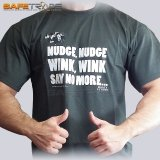 [TSH-35] Monty Python™ T-shirt Koszulka Nudge Wink Say No More XL