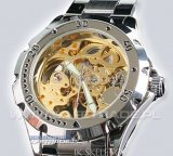 [ZIK-10G] IK Skeleton Limited Edition Ghost Gold Zegarek Mechaniczny