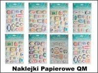 Naklejki Papierowe QM