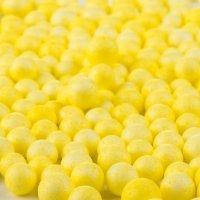 Kuleczki Styropianowe Żółte [Komplet 10 opakowań]