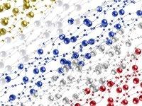 Girlanda Perłowa - Mix Kolorów [ Zestaw - 20 Paczek]