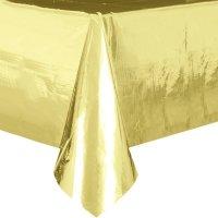 Obrus Złoty 137x274 [Komplet - 2 sztuki]