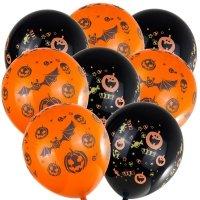 Balony Halloween Dynia/Nietoperz[Komp<br />let - 5 zestawów]