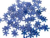 Cekiny Śnieżynki Duże Chaber - [ Komplet - 20 sztuk]