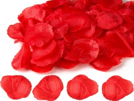 Płatki Róż Czerwone 100 Płatków [ Zestaw - 50 Paczek]