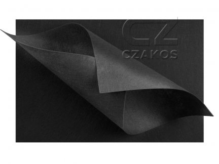 Filc 2mm Duży 30x40cm Czarny [ZESTAW 10 SZTUK]