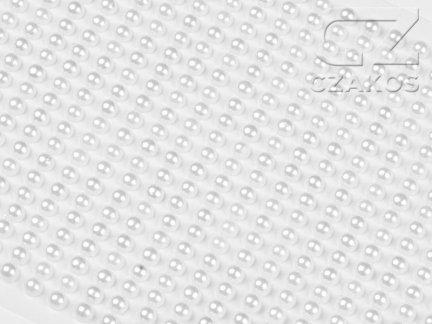 Perełki samoprzylepne 3mm Perłowy [10 Blistrów]