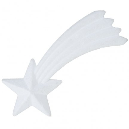 Gwiazda Betlejemska Styropianowa 20cm [Komplet 10szt]