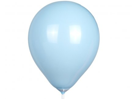 Balony Pastel Błękit 100szt  [Zestaw - 10 paczek]