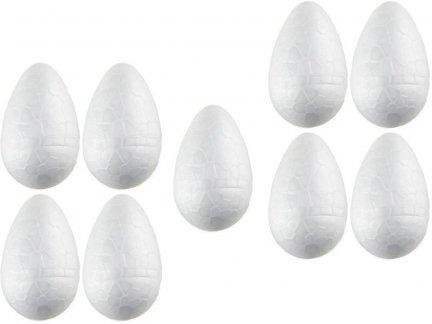 Jajko Styropianowe IMPORT 7cm [Komplet - Zestaw 1000sztuk]