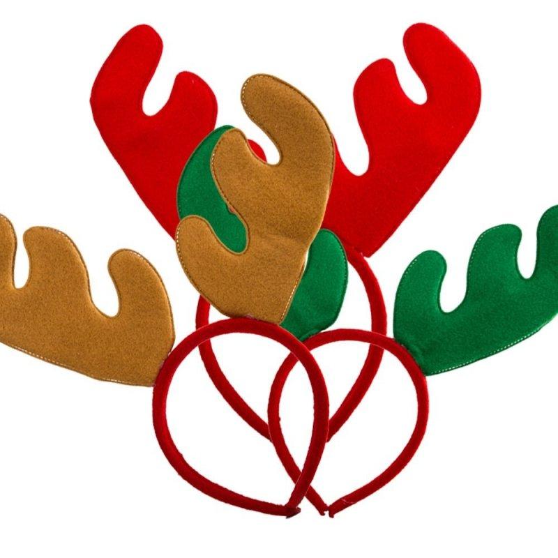 Opaska Świąteczna Renifer Mix [Komplet 12szt]