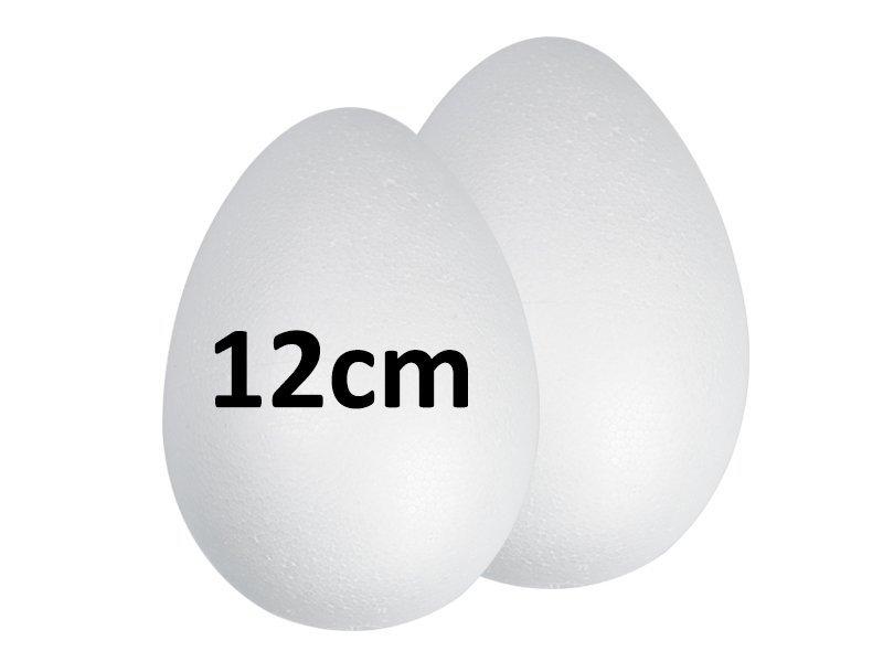 Jajka Styropianowe 12cm [Komplet 240szt]