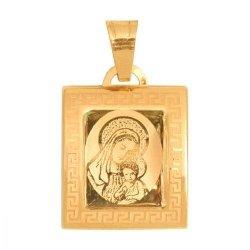 Medalik złoty 585 - Mv017