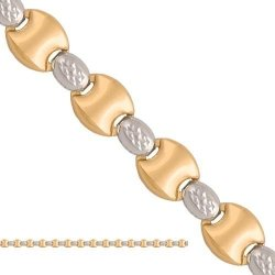 Naszyjnik złoty ozdobny 585 - Vn067