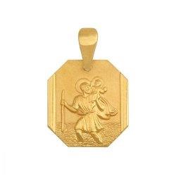 Medalik złoty 585 - 21845