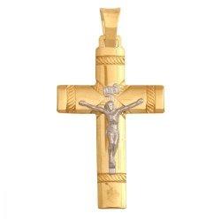 Krzyżyk złoty 585 - 27291