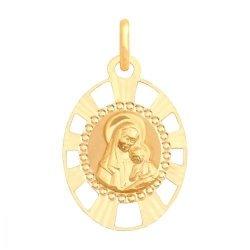Medalik złoty 585 - 31259