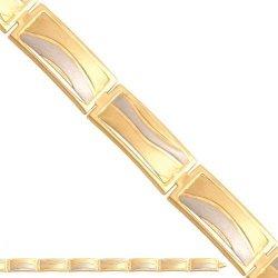 Bransoletka złota, damska 585 - 31590