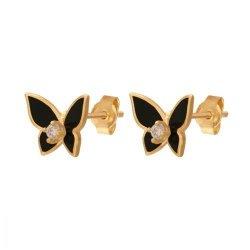 Kolczyki złote 585 sztyft - 36772