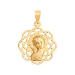 Medalik złoty 585 - 37091