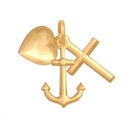 Krzyżyk złoty 585 - 38150