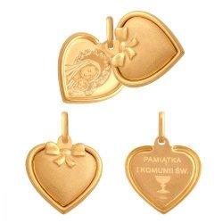 Medalik złoty 585 - 38778